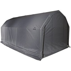 ShelterCoat 12 x 28 ft. Peak Style Garage - 2 Colors Available