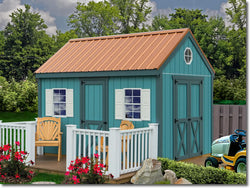 Best Barns Regency 8x12 Wood Shed Kit