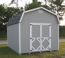 "Little Cottage Classic Barn with 6' Sidewalls ""Panelized Kit (wood) no floor"""