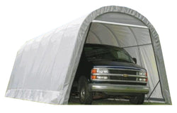 ShelterLogic 12x28x8 Round Style Shelter, 2 Colors Available