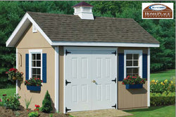 10 x 16 Studio Garden Storage Shed