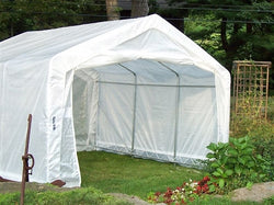Rhino Instant Greenhouse House-Style 12'Wx12'Lx8'H (Translucent)