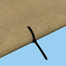 Shelterlogic Shade Cloth Fabric Tie Wraps - 25 per polybag