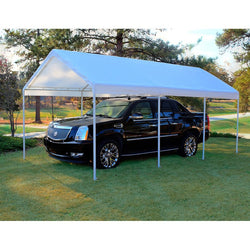 "King Canopy A-Frame Hercules Canopy - 10' x 20' x 9'9""- 8 Legs - 180g/m2 Fitted Cover w/ Drawstring"