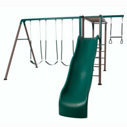 Lifetime Monkey Bar Adventure Swing Set (Earth Tones)