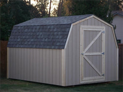 12' x 12' Barn Style Wood Shed Kit
