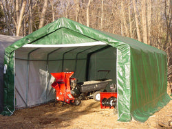 Rhino 12x20x8 Portable Storage Building Shelter