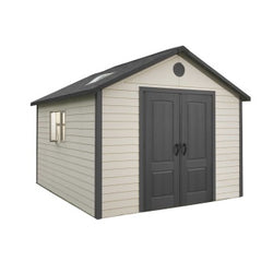 Lifetime 11 x 11 Premium Plastic Storage Shed w/ Floor