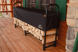 Large Firewood Rack with Cover