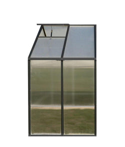 Greenhouse Extension Kit (8x4) for Monticello Models (Black or Aluminum)