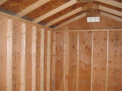 Classic Gable Style Wood Shed Kit (Sizes 8' x 8' to 12' x 24')