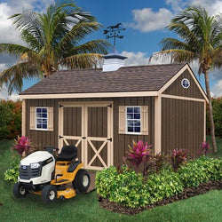 Best Barns Brookfield 12' x 16'  Wood Storage Shed Kit