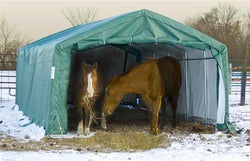 Rhino Horse/Livestock Run In Shelter House 22'Wx24'Lx12'H