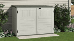 Suncast 70 Cu. Ft. The Stow-Away Horizontal Shed