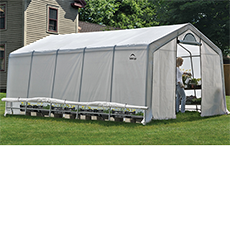 Shelterlogic GrowIT Heavy Duty 12 x 20 ft. Greenhouse