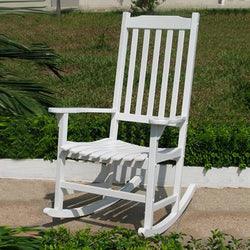 Painted Traditional Rocking Chair  28.14 x 33.07 x 44.88