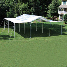 ShelterLogic MaxAP 10 ft. x 20 ft. White Canopy Extension Kit