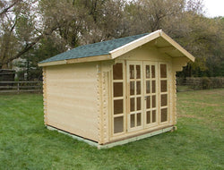 Brighton 10 x 10 Wood Garden Shed