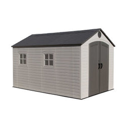 Lifetime 8 x 12.5 Premium Plastic Storage Shed Kit