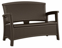 Suncast Elements™ Loveseat with Storage