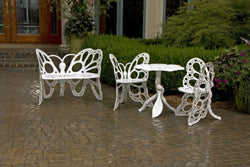 Flowerhouse Butterfly Deluxe Garden Set (Chairs (2), Table and Bench)