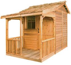 Bunkie Cedar Wood Shed Kit
