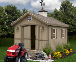 Cambridge 10' Widths - Wood Storage Shed Kits