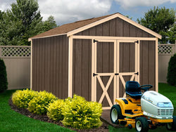 Danbury 8 x 12 Wood Storage Shed Kit - Out of Stock Until November 2019