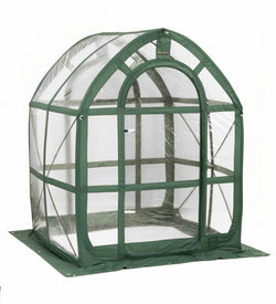 Flowerhouse 5' x 5' x 6.5' PlantHouse 5, Clear