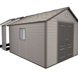 "Lifetime 11 ft. Shed Extension Kit 30""- (no windows)"