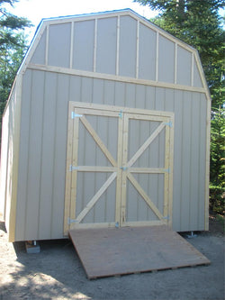 12' x 16' Barn Style Wood Shed Kit
