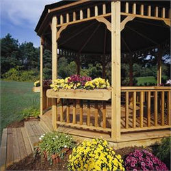 Gazebo Flowerbox (Only for Handy Home Gazebos)