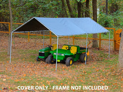 King Canopy 12 x 20 Tarp (w/out drawstrings) – Silver