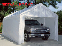 King Canopy 10 x 20 2 Zippered End Walls, 2 Side Walls w/ Flaps, 50 Ball Bungees