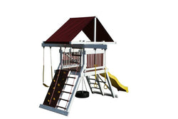 Pinnacle Play Systems Olympic Trainer Vinyl-Clad Play Set