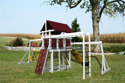 Pinnacle Play Systems Jungle Gym Quest Vinyl-Clad Play Set