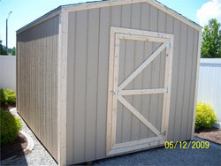 10' x 20' Gable Style Wood Shed Kit
