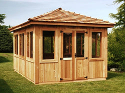 CedarShed Spa Gazebo Kits & Cedar Hot Tub Enclosures - 3 Sizes Option