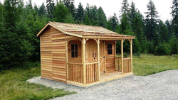 Cedarshed RanchHouse Storage Shed - 4 Sizes Available