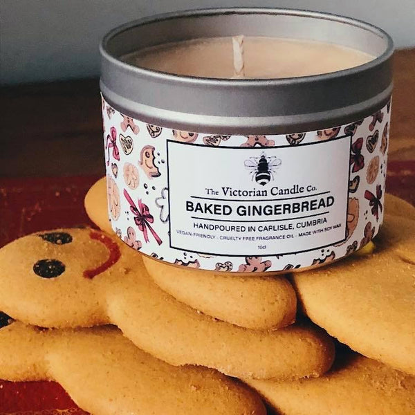 Baked Gingerbread Scented Candle
