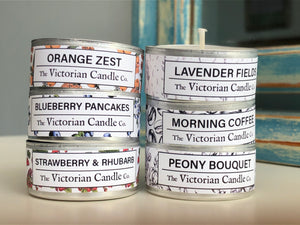 6x Pack of Scented Tealights - Choose your own scents