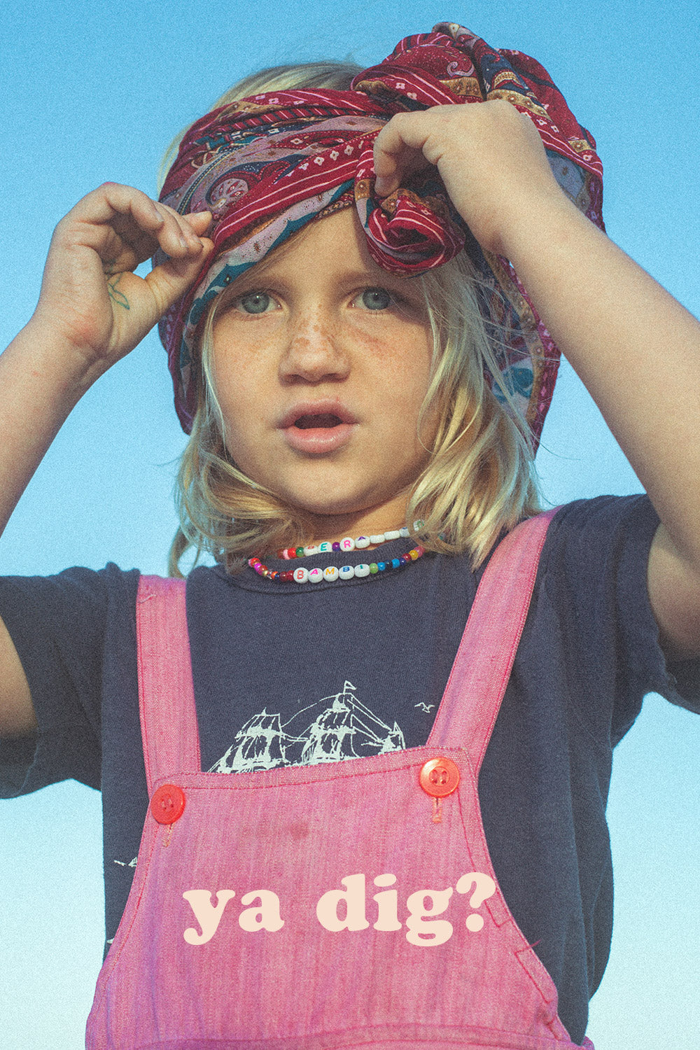 kids sustainable fashion, recycled vintage clothing, joey revival project, joey rainbow
