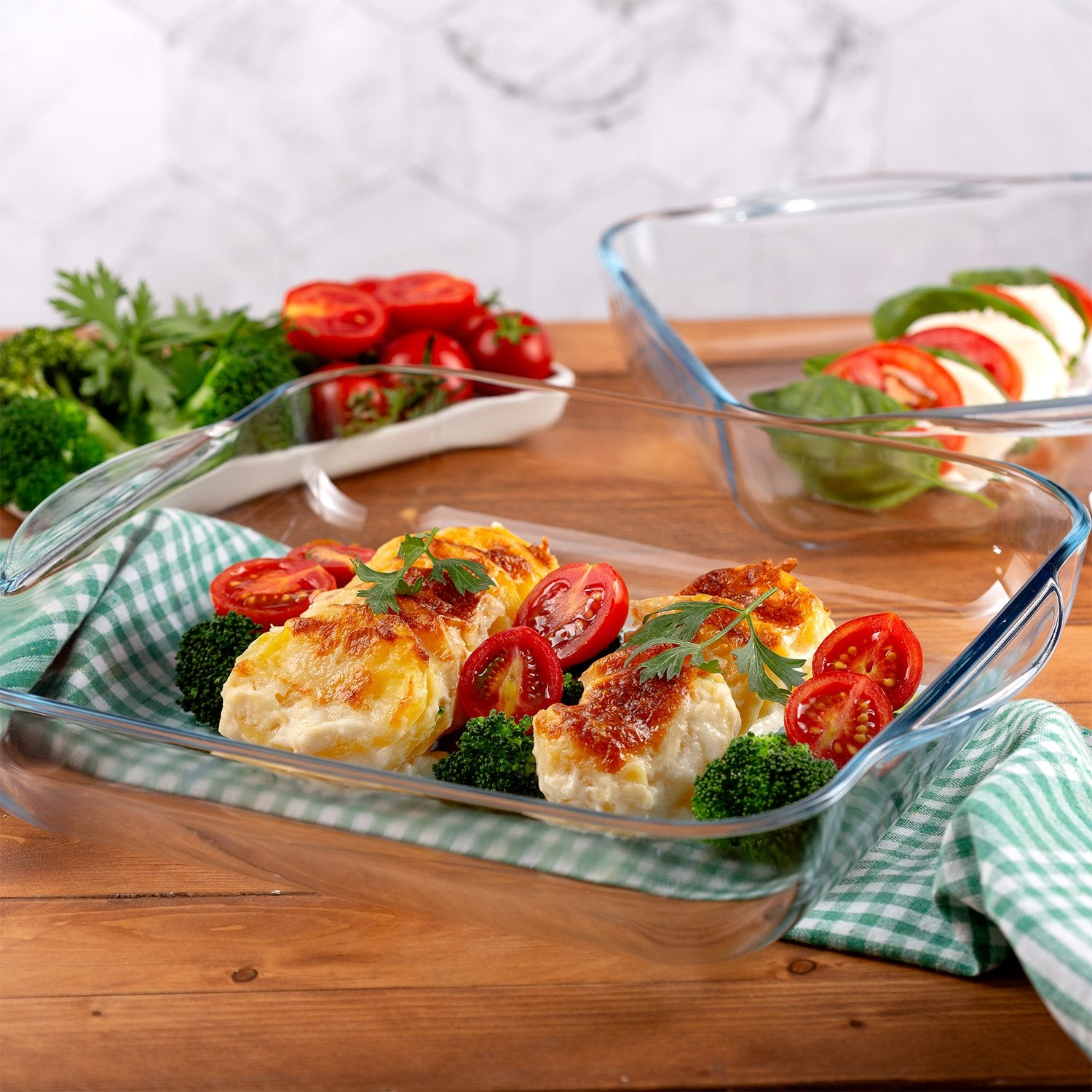 Glass Baking Dish for Oven