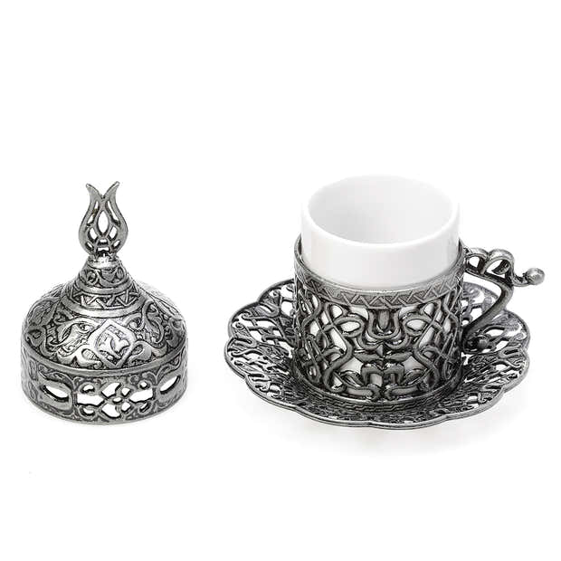 Antique Silver Coffee Serving Set 1