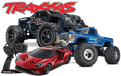 R/C CARS AND TRUCKS