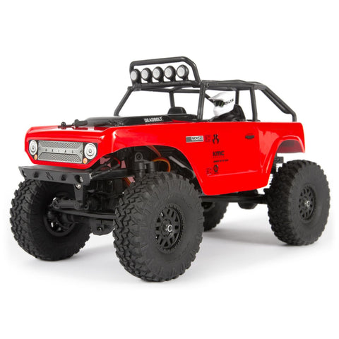 1/24 SCX24 Deadbolt 4WD Rock Crawler Brushed RTR-Cars & Trucks-Mike's Hobby