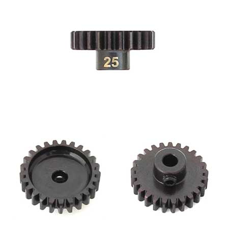 M5 Pinion Gear (25t, MOD1, 5mm bore, M5 set screw)-RC CAR PARTS-Mike's Hobby