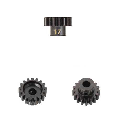 M5 Pinion Gear (17t, MOD1, 5mm bore, M5 set screw)-Mike's Hobby