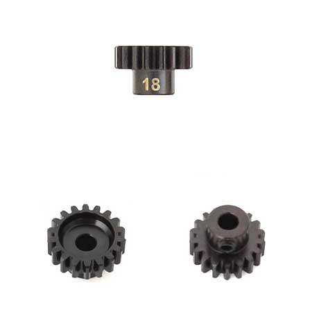 M5 Pinion Gear (18t, MOD1, 5mm bore, M5 set screw)-Mike's Hobby