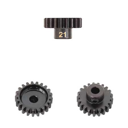 M5 Pinion Gear (21t, MOD1, 5mm bore, M5 set screw)-Mike's Hobby